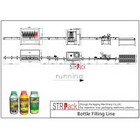 China 250ML-5L Pesticide Liquid Filling And Capping Machine Line Stable Anti Corrosive on sale