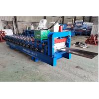 Buy cheap Zinc Plated Coil Channel Roll Forming Machine For Fence PLC Automatic Control from wholesalers