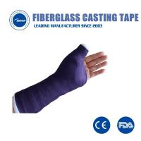 Buy cheap Fabric orthopedic Bandage Waterproof soft Fiberglass Casting tape from wholesalers