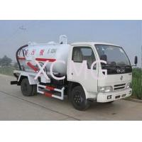 Best High Efficient Special Purpose Vehicles , Sewage Pump Truck For City Environment Protection wholesale
