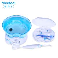 Best small home appliance transparent blue electric water dental oral irrigator wholesale