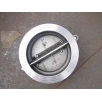 Quality 16BAR Wafer Type Double Door Swing Check Valve with Full S/S Stainless Steel Material wholesale