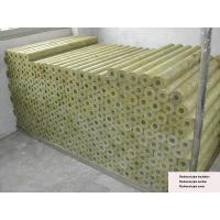 Buy cheap Rigid Rockwool Pipe Insulation , Rockwool Pipe Section 22 - 529 mm Dia from wholesalers