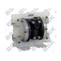 Cheap Plastic Pneumatic Double Diaphragm Pump Vacuum with Butterfly Valves for sale