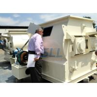 Best 18.5kw 380v Dry Mortar Mixer Machine Twin Shaft Paddle Mixer Steel Material wholesale