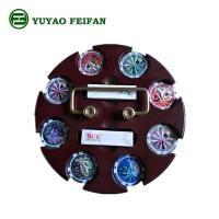 Best SGS Approval Customized 200 Pcs Casino Poker Chip Sets With Round Wooden Tray wholesale