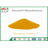 Best C I Reactive Yellow 3 Textile Reactive Dyes Colour Dye For Fabric wholesale