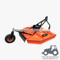 Best 6RCM - Tractor Mounted 3point Rotary Cut Mower with PTO Shaft driven with Real wheel wholesale
