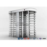 Cheap Full High Access Control Turnstile Dual Passage RS485 Communications Interface for sale