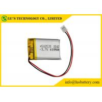 Best LP502535 Rechargeable Lithium Polymer Battery 3.7V 400mah With PCM / Wires / Connector wholesale
