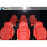 Best Hydraulic Dynamic 5D Theater System Red Motion Chairs With Special Effect wholesale