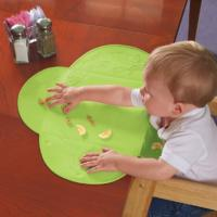 Best Not Drop Out LFGB  Silicone Baby Bibs Placemat With Suction Cup Design wholesale