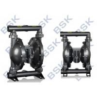 Best Black Rubber / Teflon Double Diaphragm Pump High Pressure 8.3bar wholesale