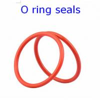 Best ACM 70 Rubber O Ring Seals For Connector , Colored Orings Wear Resistant wholesale