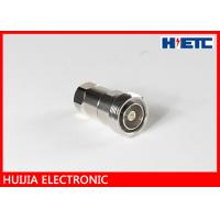 """Best 1/2"""" Feeder Cable  Coax To Antenna Adapter , RF DIN Straight N Type Female Connector wholesale"""