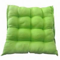 Best 100% cotton solid color chair cushion in various patterns wholesale