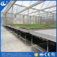 Greenhouse bench rolling bench ebb and flow tables from HEBEI