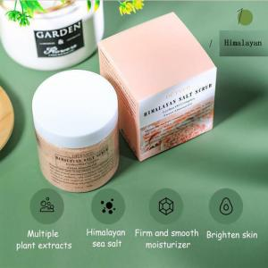 Best Custom Logo Label Whitening Himalayan Salt Body Scrub wholesale