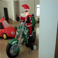Quality Customized Lovely Inflatable Santa Claus , inflatable cartoon characters wholesale