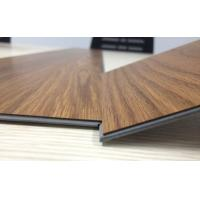 Best anti-bacterial wear resistant uv coating embossed PVC click vinyl flooring planks wholesale