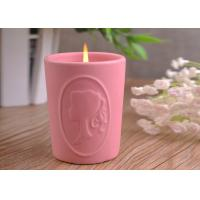 Best Character Candle Cup Holders Ceramic Candle Containers With Candle Light wholesale