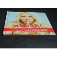 Best Glossy Paper Lamination Embossed Cookbook Hardcover Book Printing 350gsm wholesale
