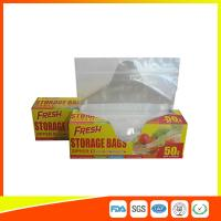Best Food Preservation Freezer Zip Lock Bags Reusable For Home / Supermarket Use wholesale