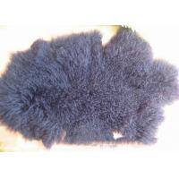 China China Factory Cheap Wholesale Extra Long Sheepskin Tibetan Lamb fur Pelt rug for Home on sale