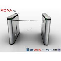 Best Shopping Mall Drop Arm Turnstile Gate 304 Stainless Steel 2 RFID Readers Windows wholesale