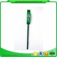 Cheap Triangle Plastic Coated Steel Plant Support Stakes / Green Garden Stakes *D7 X for sale