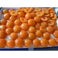 Best Whole / Halves Canning Apricots Preserves , Canned Apricots In Juice wholesale