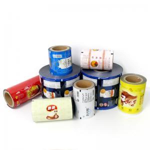 Best gravure printing food grade packaging metalized plastic Matt opp sachets film in roll for potato chips wholesale