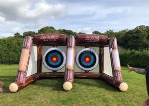 Best Interactive Sport Shooting Games Inflatable Axe Throwing Sticky Tossing Game For Adult And Kids wholesale