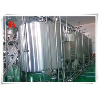 Best Small Scale Milk Production Line Air Conveyor Connects With Bottle - In Star Wheels wholesale