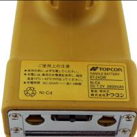 Best 2800mah 7.2 V Nicd Battery , Yellow Topcon Bt 24q Rechargeable Battery Pack wholesale