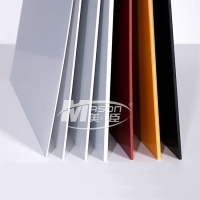 Best Solid Colored Acrylonitrile 5mm ABS Plastic Sheet Acid Resistant wholesale