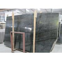 Best Ancient Wood Black Marble Stone Slabs Large Marble Tiles For Building wholesale