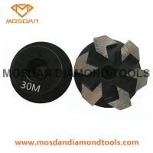Best Terrco Plug Metal Grinding Diamonds with Arrow Segments wholesale