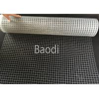 China Zinc Coated Iron Welded Wire Netting Square Mesh Hole Packed In Roll on sale