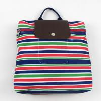 Best Special Hipster Canvas Fabric Backpack School Bag Striped For Teenage Girls wholesale