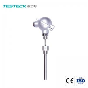Buy cheap SS316 Bearing Temp Sensor Pt100 Rtd 2 Wire 3 Wire With Junction Box from wholesalers