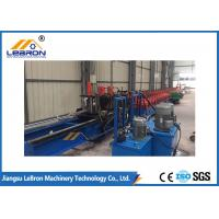 Best Post Punch And Track Cutting Solar Strut Channel Roll Forming Machine Long Life Time wholesale