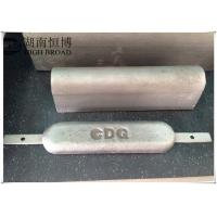 Cheap aluminum anodes are designed for optimum performance under a variety of for sale