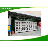 China Automated Refrigerator Large Fresh Food Vending Machine Rental With Doors on sale