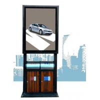 Best Fashion and practicality advertising light box with trash can wholesale
