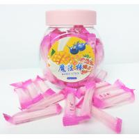 Best Pink Magic Stick Healthy Hard Candy , 4g Strawberry Hard Candy wholesale