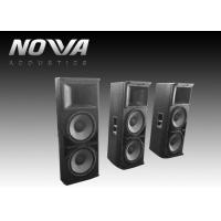 Best Powered Conference Hall Sound System 37 Hz-20 KHz With Birch Plywood wholesale