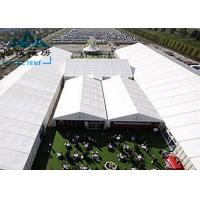 Best Movable Design Trade Show Tents With Clear PVC Fabric / VIP Cassette Flooring wholesale