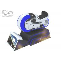 Best SGS Virtual Reality Simulator 9D Racing Car Motion Ride VR Gaming With Headset wholesale