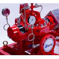 Best Industrial 750 GPM Split Case Fire Pump Single Stage With Double Impeller wholesale